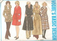 patrons manteaux vogue Choisir un patron et du tissu pour confectionner un manteau