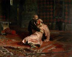 Iván el Terrible y su hijo ( 1885) Ilya Repin