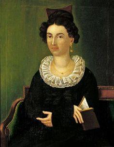 Joshua Johnson (American artist, 1763–1824) Portrait of a Woman