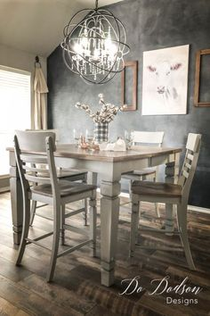 Surprising 174 Best Painted Dining Set Images In 2019 Dining Painted Gmtry Best Dining Table And Chair Ideas Images Gmtryco
