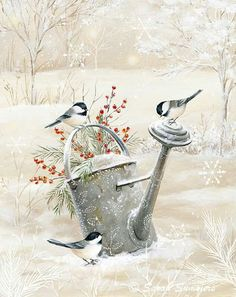 Winter is coming. Doesn't this scene make it so worthwhile? Winter is coming. Doesn't this scene make it so worthwhile? Build Hedgehog house yourselfNeed chickens artificiallyWho hedgehogs fit for the winter Christmas Paintings, Christmas Art, Vintage Christmas, Xmas, Winter Painting, Winter Art, Painting Snow, Vogel Illustration, Illustration Animals