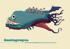 Anntagonyca by Manuel Martinez Campagna, via Behance