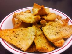 Low Protein Cambrooke Pita cut in wedges, coat with some olive oil, garlic salt, and ur fav spices - bake till golden!