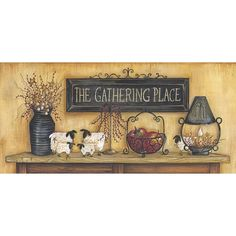 The Gathering Place by Penny Lane artist Mary Ann June