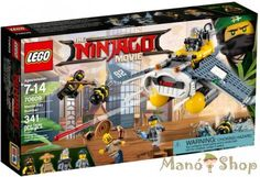 LEGO Ninjago Manta Ray Bombázó 70609
