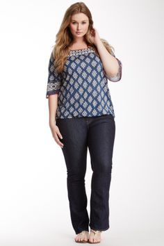 Lucky Brand Ginger Bootcut Jean (Plus Size)