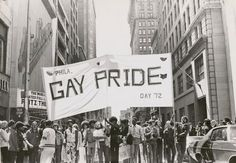 After Stonewall: The First-Ever Pride Parades, In Vintage Photos | Brain Pickings