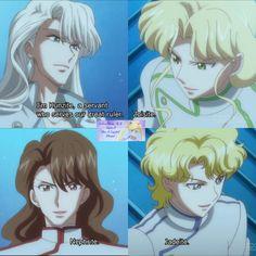 Kunzite, Zoisite, Nephrite and Jadeite Sailor Mars, Sailor Moon Manga, Sailor Venus, Sailor Moon Villains, Sailor Pluto, Sailor Neptune, Sailor Moon Art, Sailor Jupiter, Sailor Princess