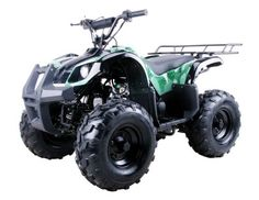 125cc Four Wheelers 8″ Tires with Reverse, Green Camo