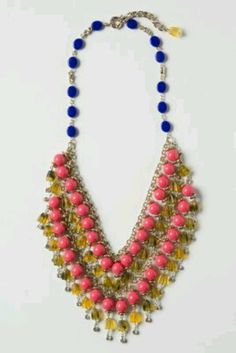 La ramba anthropologie necklace