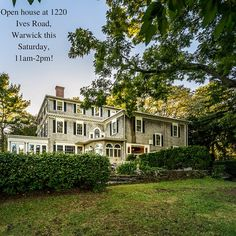 Open house this Saturday!
