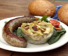 Kapusta - Polish Braised Cabbage