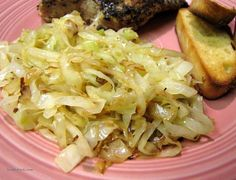 Sauteed Cabbage from Food.com: I grew up on smothered cabbage, but I think this one can beat them all...tender-crisp and fast. See note for caraway.