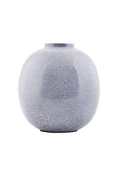 kr. 145,- Effekt vase - blå højde 14 cm