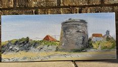 Irish Art, Oil Paintings, Tower, The Originals, Unique Jewelry, Awesome, Handmade Gifts, Etsy, Vintage