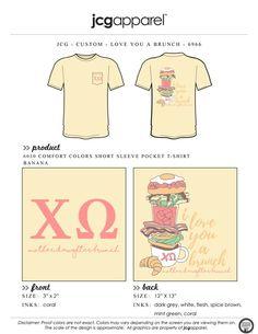 ef4d16e9 Custom T-Shirt Design and Screen Printing | JCG Apparel. Gamma PhiKappaPi  ...