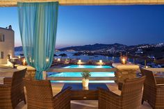 Our hotel view in Mykonos :)