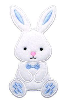 Easter Bunny appliques, appliques de Pâques, lapin broderie, broderie de Pâques, Boy Bunny appliques, Design de broderie Machine, téléchargement immédiat