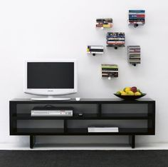 Piniwini Bookshelf Smart Storage, Creative Inspiration, Creative Ideas, Clean Design, My Dream Home, Bookshelves, Man Cave, Living Room Furniture, Office Desk