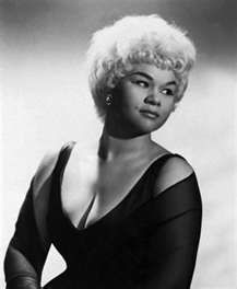 Etta James (American Singer) She sang in different genres including blues, rhythm and blues, rock and roll, gospel and jazz. Her most known songs Dance with Me Henry, At Last, Tell Mama and I'd Rather Go Blind. . . . .