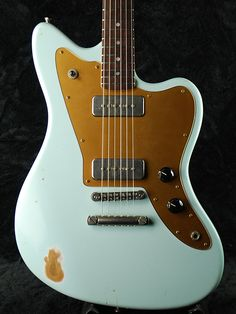 Fano Guitars Facto JM6  - Gold and White