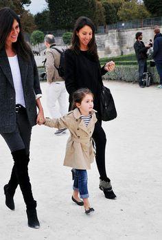 Emmanuelle Alt's daughter. Chicest kid ever!