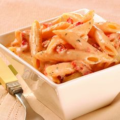 Penn Pasta w/Sun Dried Tomato Cream Sauce