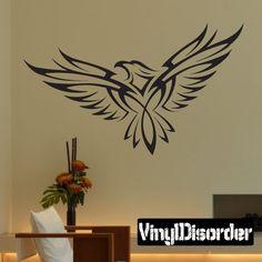 Bird Wall Decal - Vinyl Decal - Car Decal - DC010