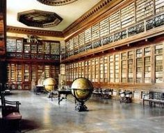 Absolutely stunning pictures of libraries. Art Deco, Germany Travel, Louvre, Architecture, Building, Places, Bookstores, Adventure, Studio