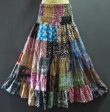 Long hippie skirts! - For more, visit http://www.pinterest.com/AliceWrenn/