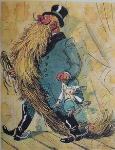 Zlatý kľúčik čiže Buratinove dobrodružstvá, Alex Tolstoj, ilustrácie A. Kanevskij