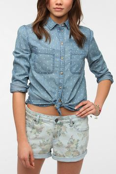 BDG Classic Chambray Button-Down Shirt  Urban Outfitters $59