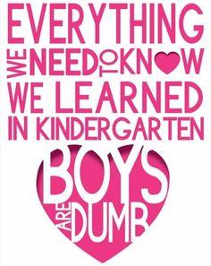 Education is key.