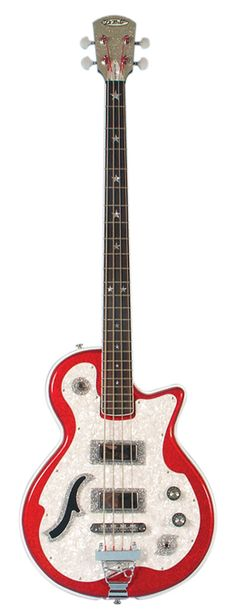 DiPinto Electric Guitars & Basses Belvedere Deluxe Bass