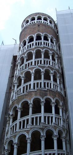 Spiral stairs, Venice