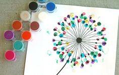 fingerabdruck bilder vorlage-pusteblume-bunt-idee-diy-erwachsene-kinder Source by Preschool Crafts, Easy Crafts, Diy And Crafts, Craft Projects, Crafts For Kids, Arts And Crafts, Picture Templates, Diy Adult, Ideias Diy