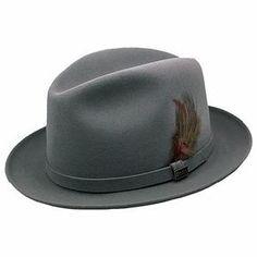 Hats for Men   Men's Fur Felt Dress Hat from Dobbs Hats - The Steve Harvey Collection ...