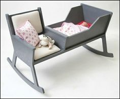 Babywiege Sitzstuhl Kissen Leseecke