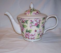 Dynasty Royal Patrician Flowered teapot by RockingChairAntiques, $60.00