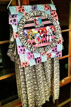 Monster High Paper Bag Piñata by booturtle, via Flickr