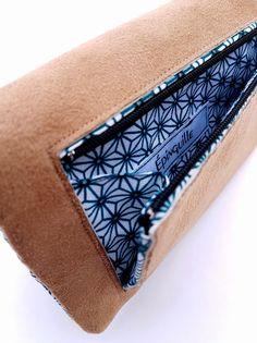 fb83252367baea Portefeuille femme compagnon, pochette femme, tissu japonais, portefeuille  tissu, cadeau femme, personnalisé, camel, bleu, japonisant