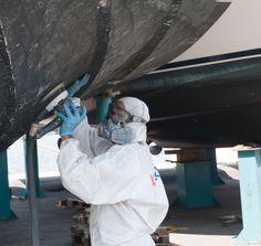 #PortoMirabello #shipyard Taking care of your #hull