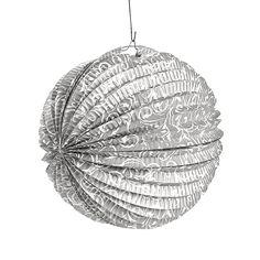 Silver Flourish Party Lanterns - OrientalTrading.com