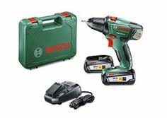 Bosch Perceuse-Visseuse «Expert» sans Fil PSR 18 Li-2, Coffret 2 Batteries 2,5 Ah, Technologie Syneon 060397330H