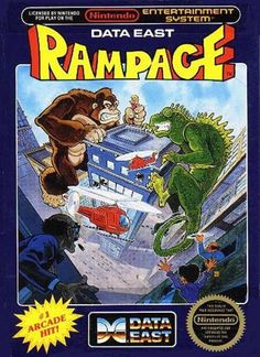 The original arcade version is still one of my favorite games. I played the heck out of the NES version. When Rampage World Tour came out in arcades it became my all time favorite game in the series. Eat the people! Nom, Nom, Nom, Nom!