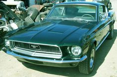 68 Ford Mustang Fatback