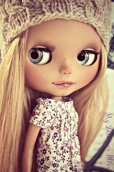 Roxy OOAK Custom Roxy Baby Blythe Art Doll by MyDeliciousBliss