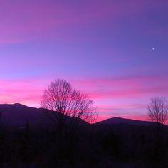 #nofilter #sunrise #burkemountain