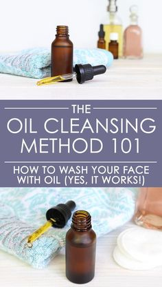The Oil Cleansing Method may sound crazy but it WORKS! Yes, you can wash your face with oil. This natural skincare solution not only keeps skin supple and smooth, but also keeps pores clean and clear. Learn why it works + how to do it + the best oils to use!