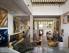 ART & LIFE: DecoArt: casa-estudio de un pintor